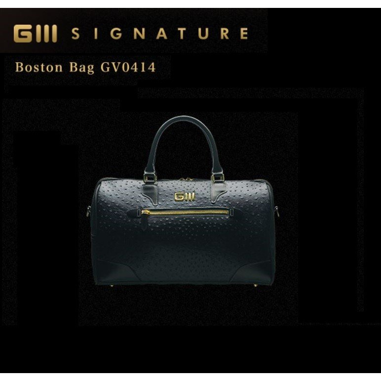 【GRAND GOLF GEAR】 GIII SIGNATURE  Boston Bag/GV0414 ボストンバッグ