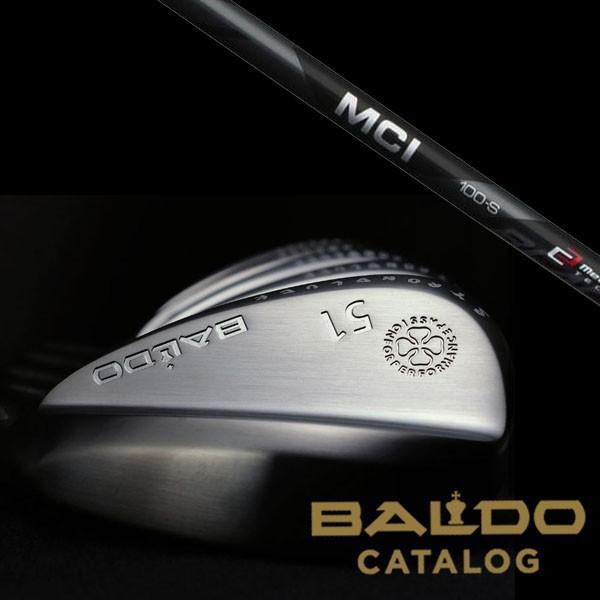 【BALDO】バルド STRONG LUCK WEDGE TYPE-S ストロング ラック ウェッジ タイプS ★ MCI 黒 80/100シャフト