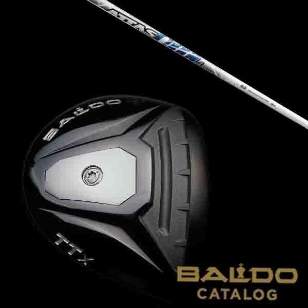 BALDO バルド TTX BRASSY(ブラッシー) フェアウェイウッド ATTAS COOL シャフト 【5営業日以内に発送】