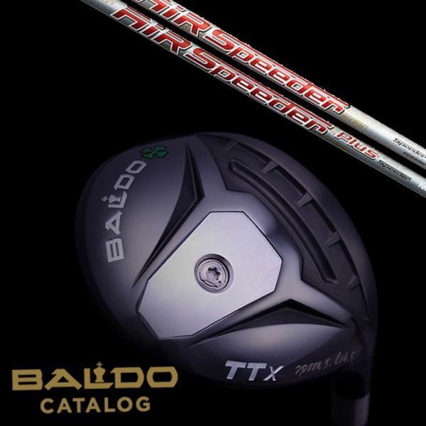 【BALDO】バルド TTX フェアウェイウッド Air Speeder FW/Air Speeder Plus FW シャフト 【5営業日以内に発送】