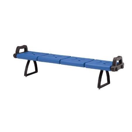 【ゴルフ練習場などに】ガーデンベンチ ABS樹脂 KB-7204AL ★業務用 個人もモチロンOK