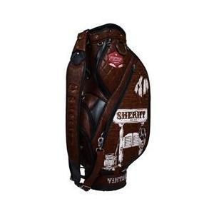 【SHERIFF】 シェリフ ウェスタンシリーズ ツアーカート キャディバッグ MOCHA 【限定80本】★SFW-006