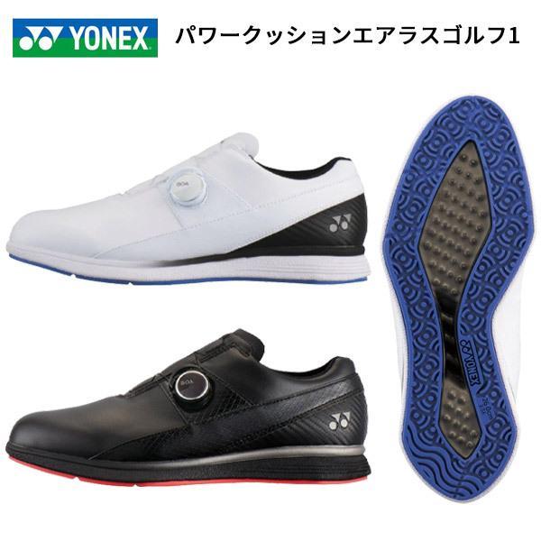 【即納】ヨネックス SHG-AR1 ゴルフシューズ パワークッションエアラスゴルフ1 2018モデル メンズ [YONEX]