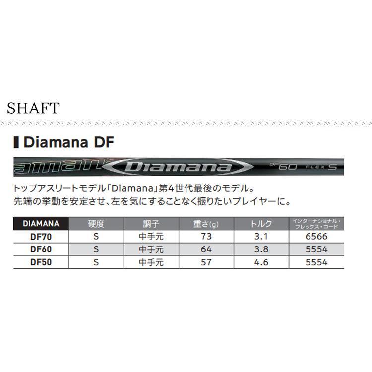 【 特注 納期約4-8週間 】 スリクソン ZX5 ドライバー ディアマナ DF シャフト 2020年モデル|golf7|08
