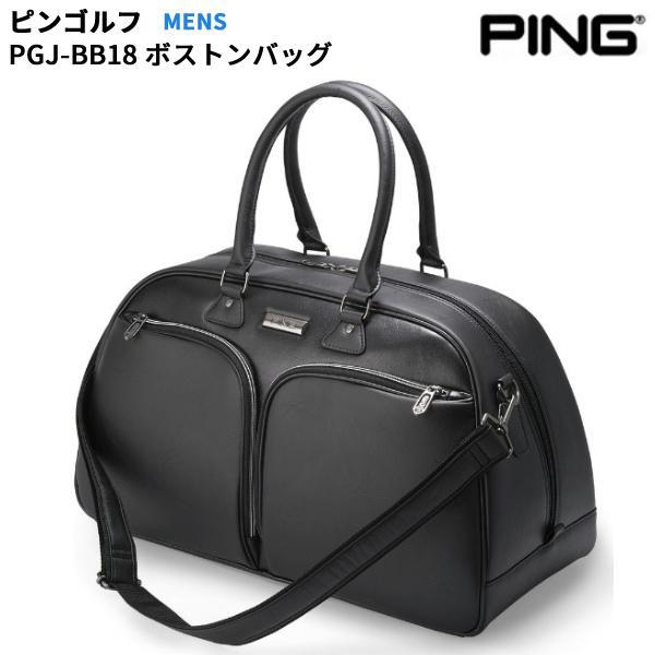 【取寄】ピンゴルフ PGJ-BB18 ボストンバッグ メンズ