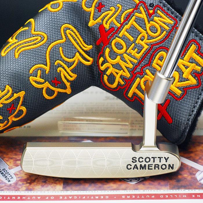 スコッティキャメロン ツアーパター ツアーラット 1 マスタフル シルバーミスト サークルT 証明書付き Tour Rat1|golfaholics|03