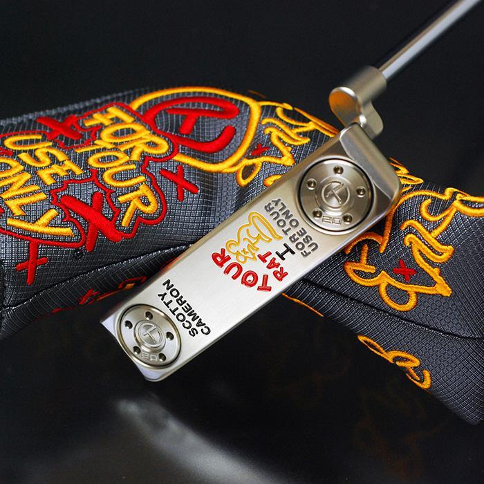 スコッティキャメロン ツアーパター ツアーラット 1 マスタフル シルバーミスト サークルT 証明書付き Tour Rat1|golfaholics|04