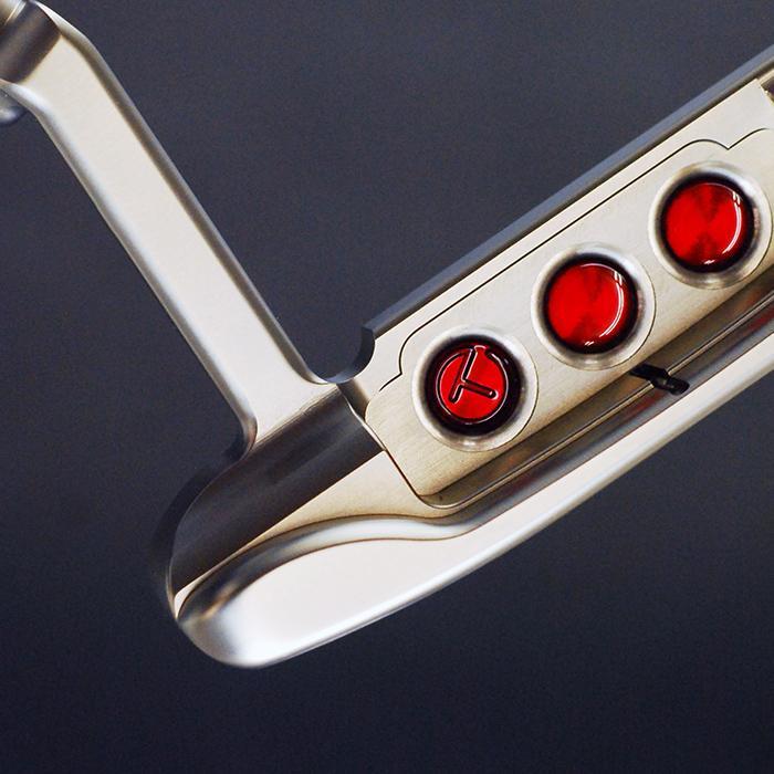 スコッティキャメロン ツアーパター ツアーラット 1 マスタフル シルバーミスト サークルT 証明書付き Tour Rat1|golfaholics|06