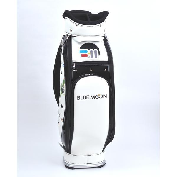 ★ブルームーン 零戦 ホワイト 9.0型 キャディバッグ 2021年モデル|golfers|03