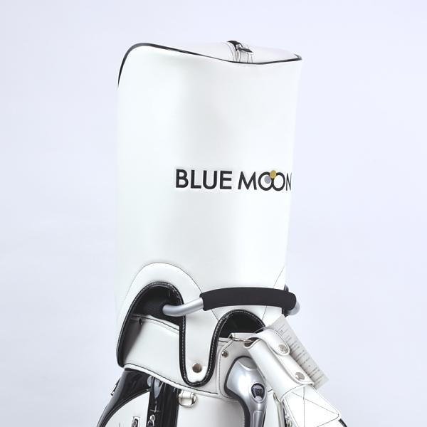 ★ブルームーン 零戦 ホワイト 9.0型 キャディバッグ 2021年モデル|golfers|05