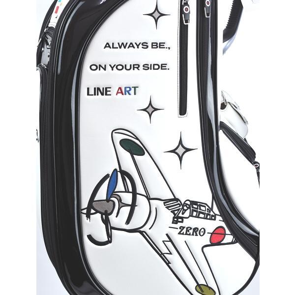★ブルームーン 零戦 ホワイト 9.0型 キャディバッグ 2021年モデル|golfers|07
