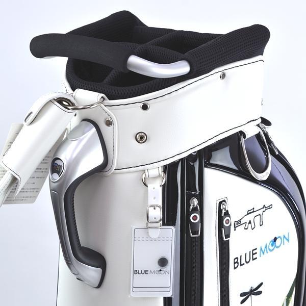 ★ブルームーン 零戦 ホワイト 9.0型 キャディバッグ 2021年モデル|golfers|08