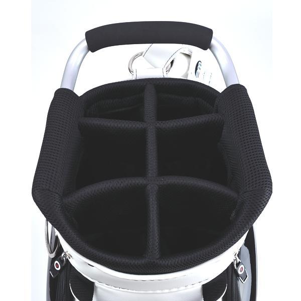 ★ブルームーン 零戦 ホワイト 9.0型 キャディバッグ 2021年モデル|golfers|10