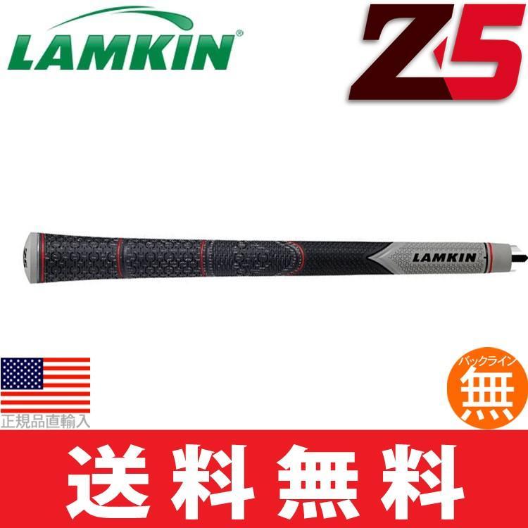 グリップ ゴルフ ウッド アイアン用 ラムキン Z5 ハーフコード スタンダードプラス M60 バックライン無 (2018年モデル) (10本セット) (ゆうパケット配送) LK0185