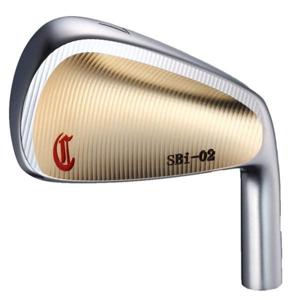 ゴルフ パーツ アイアン ヘッド 単品 クレイジー SBi-02 アイアン ヘッド (ゴールド) (#3・#4/単品) CRZ-HD-SBIGD