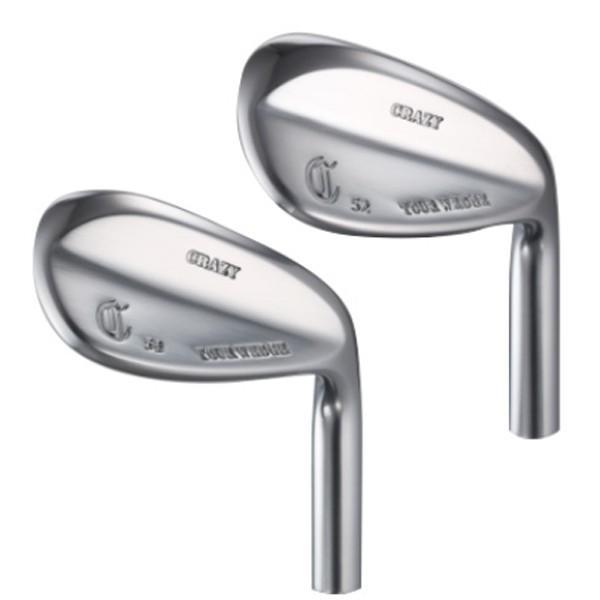 ゴルフ パーツ ウェッジ チッパー ヘッド 単品 クレイジー ツアー ウェッジ (フェースミーリング) (メッキタイプ) CRZ-HD-WGTR