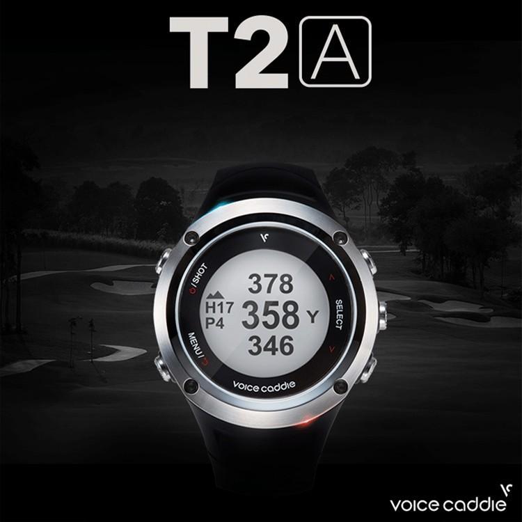 ゴルフ GPS ナビ 距離 測定器 ボイスキャディ リストウォッチ型 GPSゴルフナビ 高性能 GPS搭載 距離測定器 T2A