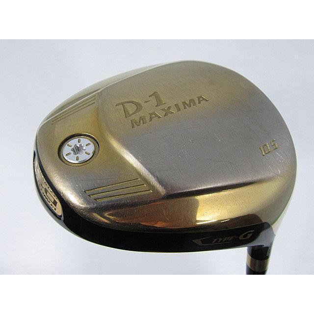 お買い得品!中古リョーマ(RYOMA) D-1 MAXIMA TYPE-G ドライバー 1W Motore Speeder VC3.0 10.5 R
