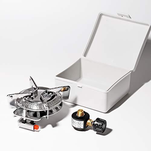 キャプテンスタッグ(CAPTAIN STAG) 一人用鍋セット オーリック 小型 ガスバーナーコンロ・クッカーセットM-6400|golflandshop|04
