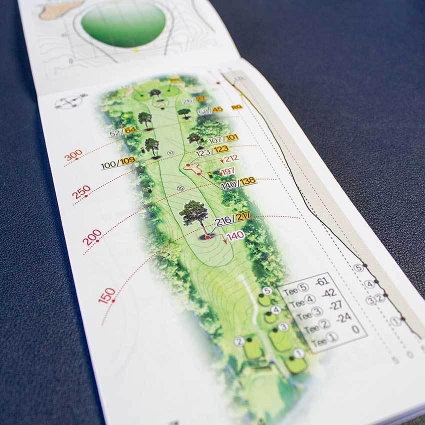 【送料込み】ヤーデージブック 八戸カントリークラブ(青森)2021モデル|golfnavi|04
