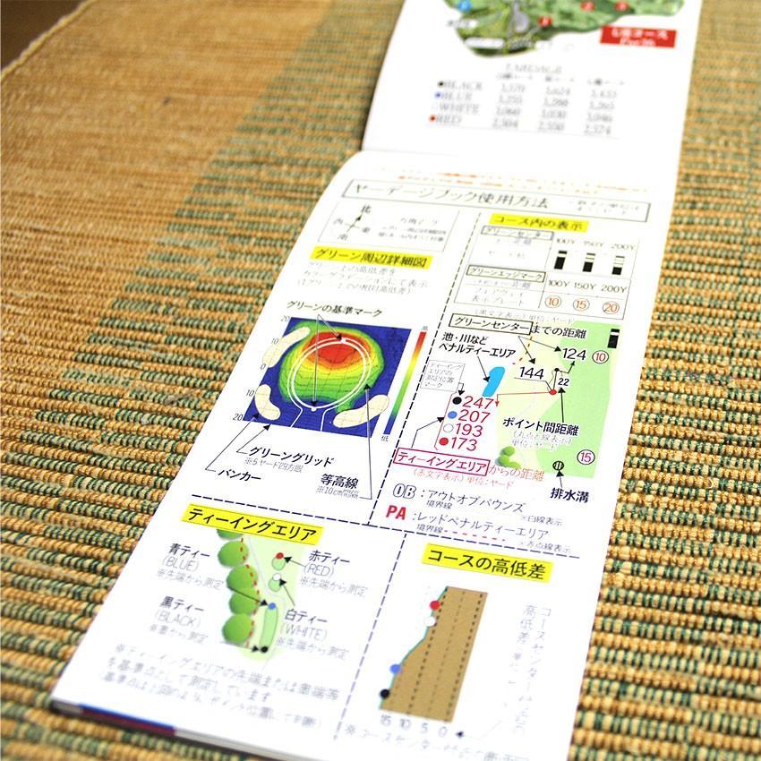 【送料込み】ヤーデージブック ニュー軽米カントリークラブ(岩手) golfnavi 03