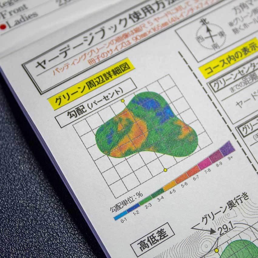 【送料込み】ヤーデージブック 南部富士カントリークラブ(岩手)2021モデル golfnavi 04