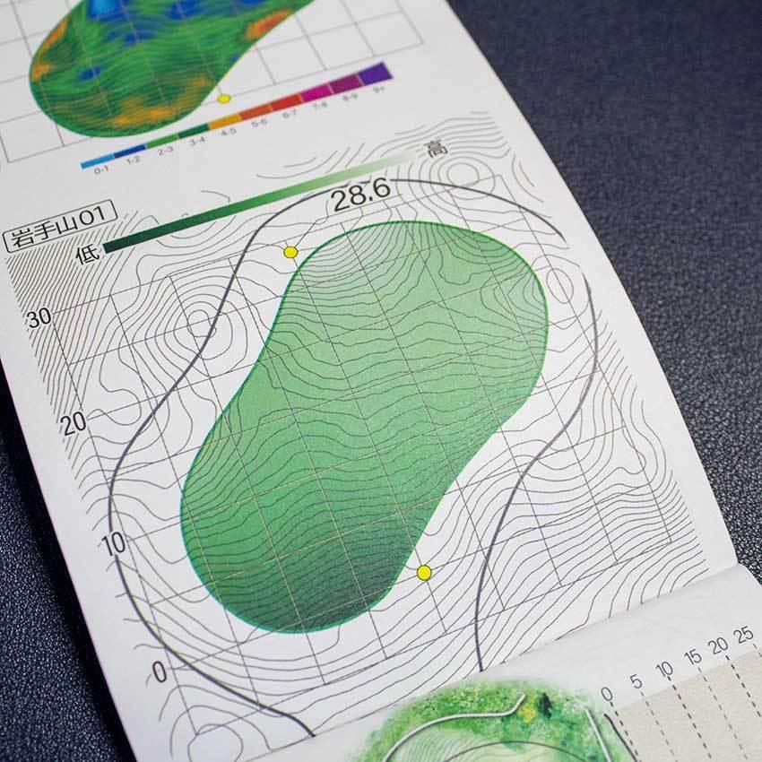 【送料込み】ヤーデージブック 南部富士カントリークラブ(岩手)2021モデル golfnavi 06