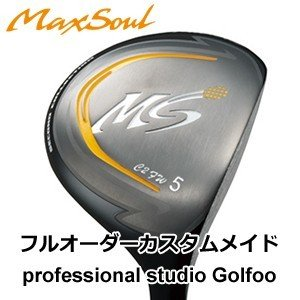 【ゴルフ】地クラブ系ヘッド Max Soul Golf Second Collection FW フェアウェイ HEAD マックスソウル
