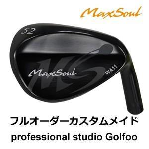 地クラブ系ヘッド MaxSoul Golf WA11 Wedge ウェッジ HEAD マックスソウル
