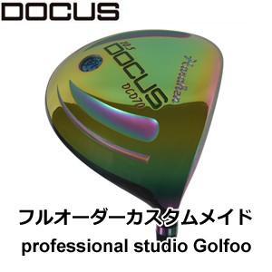 地クラブ系ヘッド DOCUS Driver DCD701Rainbow HEAD ドゥーカス