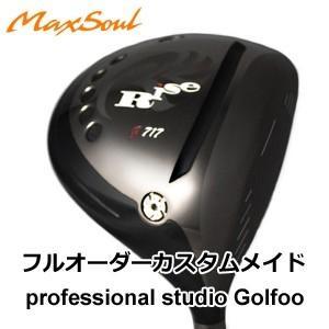 地クラブ系ヘッド Max Soul Golf Rise g717 DRIVER HEAD マックスソウル