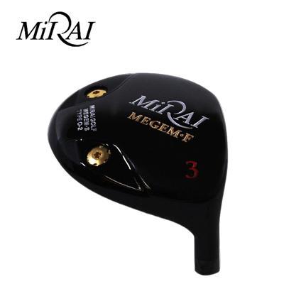 【ゴルフ】地クラブ系ヘッド MIRAI MEGEM Fairway TYPE-02 フェアウェイ HEAD ミライゴルフ