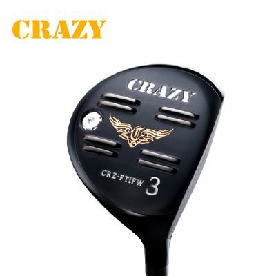 【ゴルフ】地クラブ系ヘッド CRAZY Full Titan FW フェアウェイ HEAD クレイジー