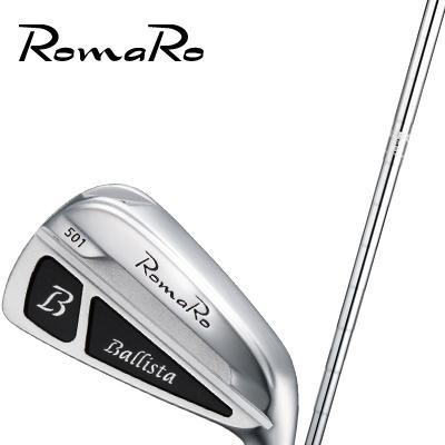 【ゴルフ】(完成品) RomaRo Ballista 501 【N.S.950GH/DG200シャフト装着モデル】アイアン #5-#PW ロマロ