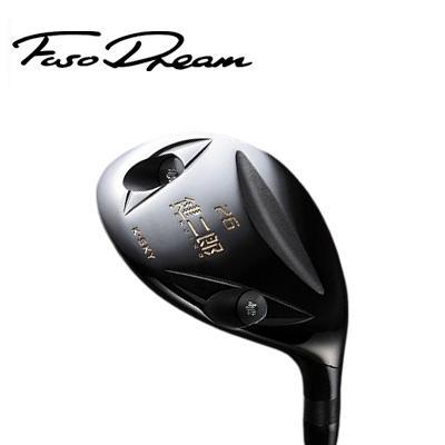 【ゴルフ】地クラブ系ヘッド FUSO DREAM 健二郎 ユーティリティ HEAD フソ―ドリーム (ヘッド単体での販売はできません)