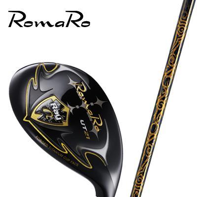 超歓迎された 【ゴルフ】完成品 RomaRo Ray α GOLD UT 【RJ-TF UT Plemium Light 装着モデル】 ユーティリティ ロマロ, vivaストアー 73970308