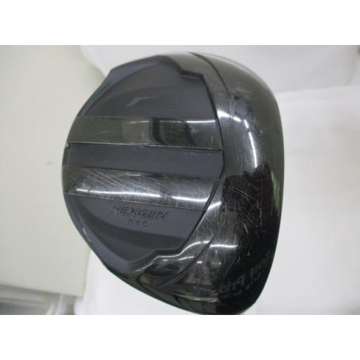 ゴルフパートナー ネクスジェン ジェット ブラック ドライバー NEXGEN JET 黒 10.5° フレックスS 中古 Dランク