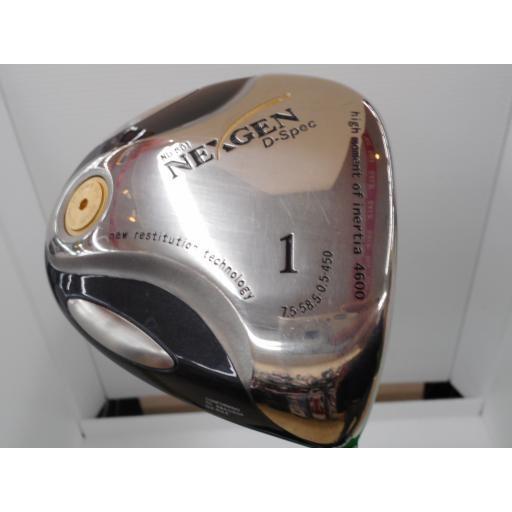 ゴルフパートナー ネクスジェン ネクストジェン ドライバー ND-801 NEXGEN ND-801 D-Spec 7.5° フレックスその他 中古 Cランク