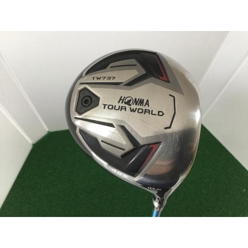 ホンマゴルフ ツアーワールド ホンマ HONMA ドライバー TOUR WORLD TW737 455 10.5° フレックスS 中古 Cランク