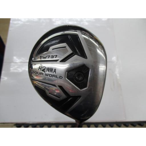 ホンマゴルフ ツアーワールド ホンマ HONMA フェアウェイウッド TOUR WORLD TW737c 5W フレックスS 中古 Cランク