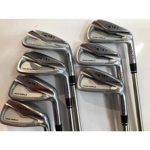 ホンマゴルフ ツアーワールド ホンマ HONMA アイアンセット TOUR WORLD TW727P FORGED 8S フレックスR 中古 Dランク