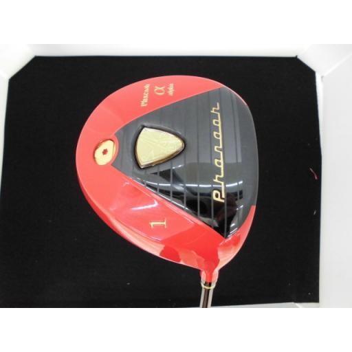 トッカメーカー ファラオ ドライバー α レッド(高反発) PHARAOH α レッド(高反発) 12° フレックスその他 中古 Cランク