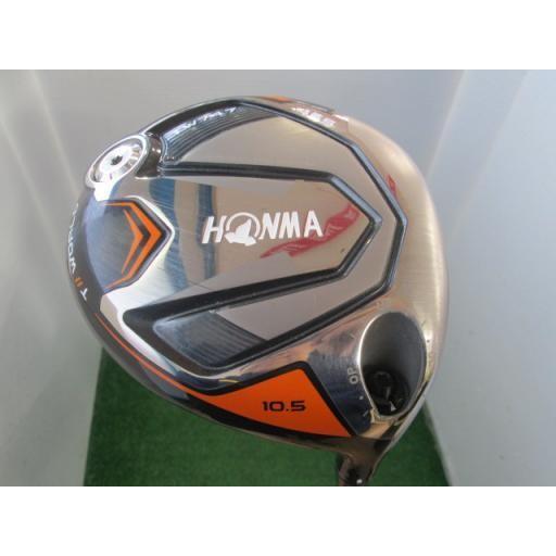 人気カラーの ホンマゴルフ ホンマ ツアーワールド ドライバー TW747 455 TOUR WORLD TW747 455 10.5° フレックスS  Bランク, 東北町 44089e5f