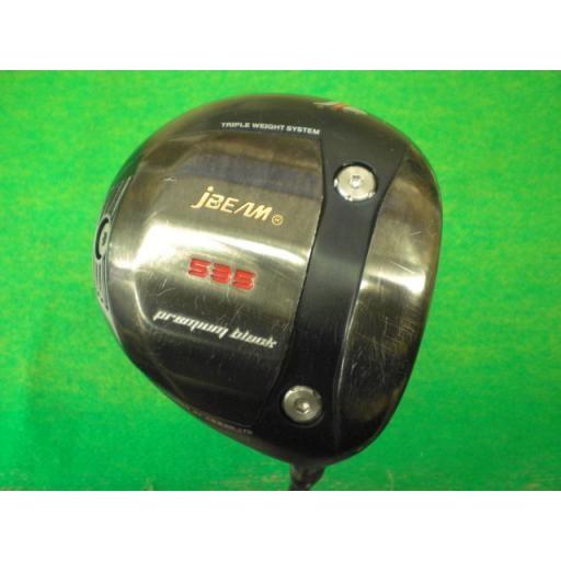 ジェービーム プレミアムバック ドライバー jBEAM 535 premium 黒 1W フレックスS 中古 Cランク