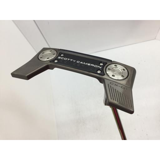 タイトリスト Titleist スコッティキャメロン パター CONCEPT X CX-01 SCOTTY CAMERON CONCEPT X CX-01 33インチ 中古 Bランク