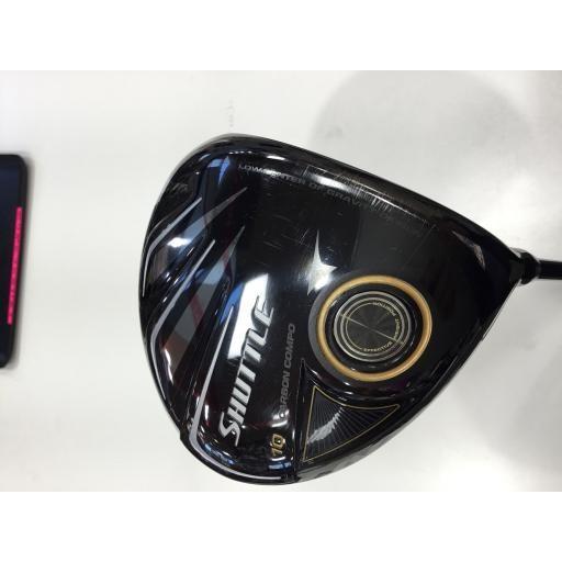 新しいエルメス マジェスティゴルフ シャトル ドライバー TYPE-X SHUTTLE TYPE-X(ブラック) 10.5° フレックスSR  Cランク, 東京レッドチェリー 42421f16