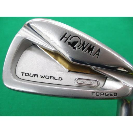 ホンマゴルフ ツアーワールド ホンマ HONMA アイアンセット TOUR WORLD TW727P FORGED 8S フレックスR 中古 Cランク