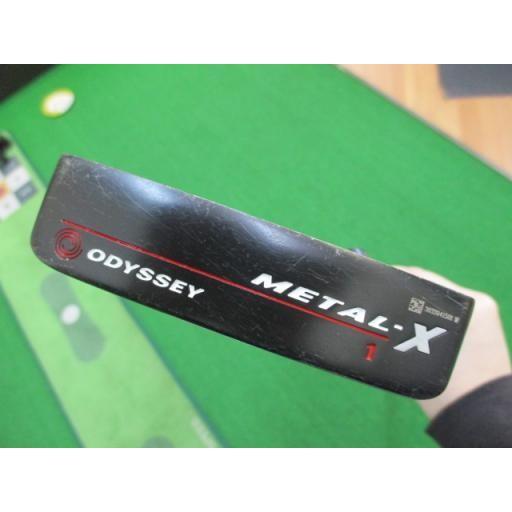 オデッセイ メタルX パター METAL-X #1 34インチ 中古 Cランク