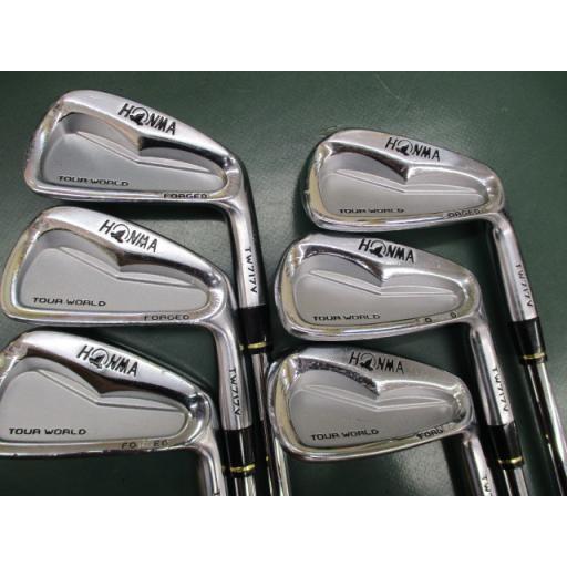 ホンマゴルフ ツアーワールド ホンマ HONMA アイアンセット TOUR WORLD TW717V FORGED 6S フレックスS 中古 Cランク