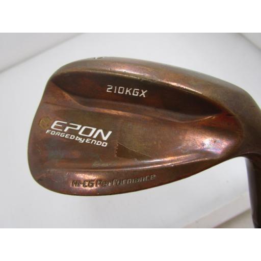 エポンゴルフ EPON ウェッジ 210KGX(ゴールデンカッパー) EPON 210KGX(ゴールデンカッパー) 52° フレックスS 中古 Cランク